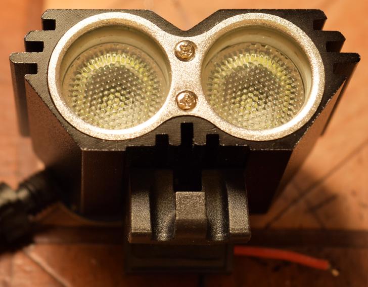 Ремонт и доработка велофары SolarStorm X2.